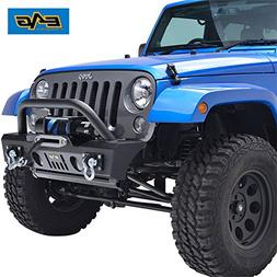 E-Autogrilles 51-0357 07-16 Jeep Wrangler JK Black Textured