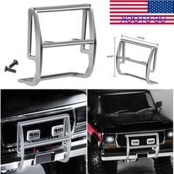 1:10 Metal Front Bumper & LED Light Bracket For Traxxas TRX-