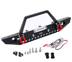 KYX Metal Front Bumper w/ Bull Bar for Traxxas TRX-4 AX SCX1