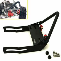 1:10 Steel Front Bumper w/ Winch Mount Shackles For Axial SC