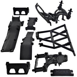 Traxxas 1/16 Mini Slash 4x4 * SKID PLATES / BUMPER / BODY MO