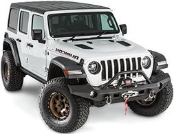 WARN 101337 Elite Series Full-Width Front Bumper for Jeep JL