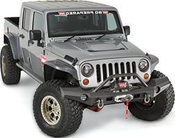 WARN 101465 Elite Series Full-Width Front Bumper for Jeep JK