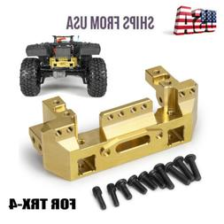 1pc Brass Front Bumper w/Servo Mount Counterweight For RC 1/