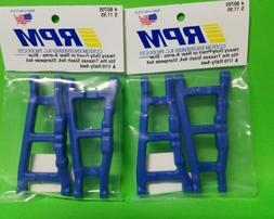 2 RPM 80705 Front Rear Blue A-Arms /Fits Traxxas 4x4 Slash S