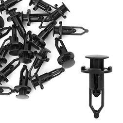 uxcell 20 Pcs Push-Type Automotive Clips Rivet Retainer Fend