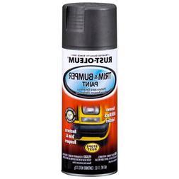 RUST-OLEUM 251574 Spray Paint, Black, 11 oz.