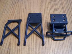 Traxxas 2wd XL-5 VXL Stampede Front Bumper Skid Plate Set Ch
