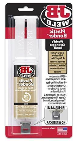 J-B Weld 50133 Tan Plastic Bonder Syringe JBW50133