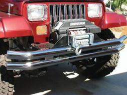 RAMPAGE PRODUCTS 7649 Black Front/Rear Tube Bumper for 1976-