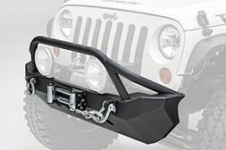 Smittybilt 76806 Black XRC Front Bumper Jeep Wrangler 2007-2