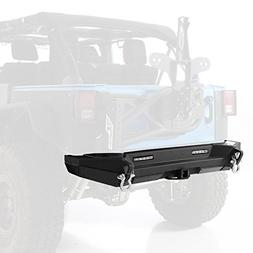 Smittybilt 76858 XRC Gen 2 Rear Bumper for Jeep Wrangler