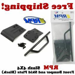 RPM 80022 Traxxas Slash 4x4 Front Bumper & Skid Plate