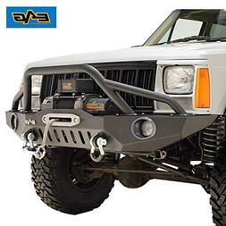 EAG 83-01 Jeep Grand Cherokee XJ Offroad Front Bumper with P