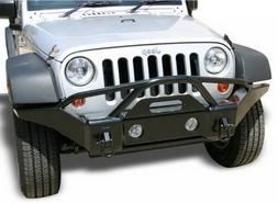 RAMPAGE PRODUCTS 86510R Black Front Recovery Bumper 'Stubby'