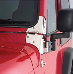 Smittybilt 8691 Door Mirror Relocation Bracket, 97-06 TJ Wra