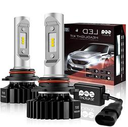9005/HB3 LED High Beam Headlight Bulbs Conversion Kit, DOT A