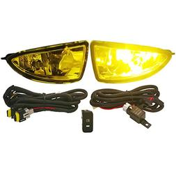 Ajp Distributors Front Bumper Jdm Fog Lights Lamps Kit Assem