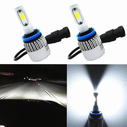 Alla Lighting COB Vision LED H11 Headlight Bulb 8000lm Xtrem