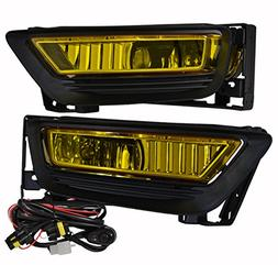 Honda Accord 4 Door Sedan Jdm Vip Yellow Amber Fog Light Lam