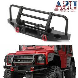Adjustable Front Bumper Metal for 1/10 RC Traxxas TRX4 Defen