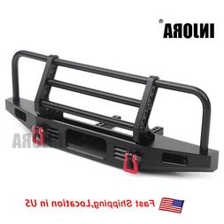 Adjustable Metal Front Bumper for 1/10 RC Traxxas TRX4 Axial