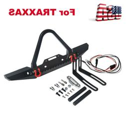 Alloy Front Bumper with LED Lights Set For TRAXXAS TRX-4 1/1