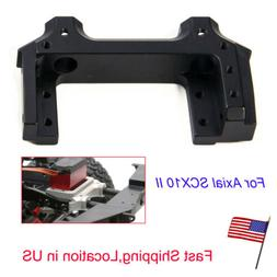 Alloy Metal Servo Relocation Front Bumper Mount For Axial SC