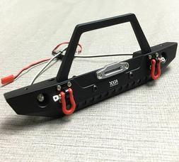 aluminum alloy front bumper w led shackle