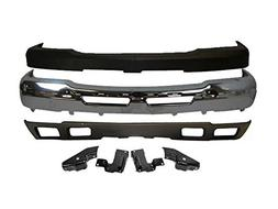 BUNDLE FOR 03-07 SILVERADO 2500HD 3500 FRONT BUMPER VALANCE