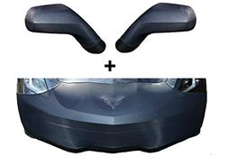 C7 Corvette Stingray NoviStretch Front + Mirror Bra High Tec