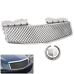 For Cadillac Cts Front Bumper Upper Center Hood Abs Chrome B
