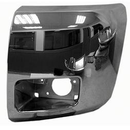 Chrome Front Bumper Extension Outer for 12-13 Chevrolet Silv