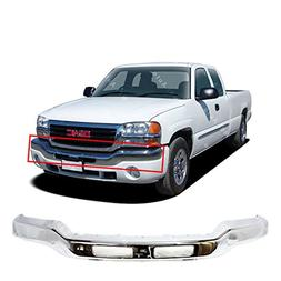 MBI AUTO - Chrome Steel, Front Bumper Face Bar for 2003 2004