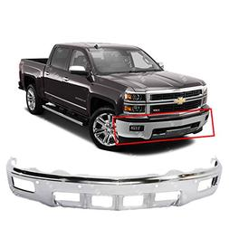 MBI AUTO - Chrome, Steel Front Bumper Face Bar Fascia for 20