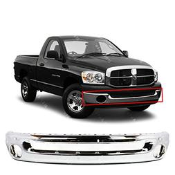 MBI AUTO - Chrome Steel, Front Bumper Face Bar for 2002-2008