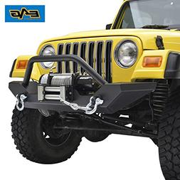 E-Autogrilles 51-0034 Fit For 87-06 Jeep Wrangler TJ YJ Rock