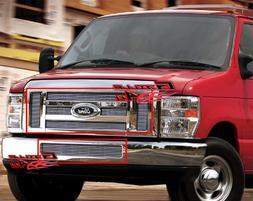 APS Fits 2008-2014 Ford Econoline Van/E-Series Billet Grille