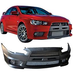 New Front Bumper Cover For Mitsubishi Lancer 2008-2015