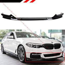 Fits Perofrmance Style Glossy Black Front Bumper Lip Spoiler