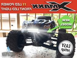 Front Bumper 11 LED Light Bar Lamp Mount for 15 Traxxas X-MA