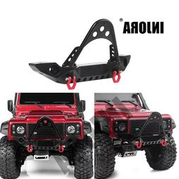 INJORA Front Bumper with Light for Traxxas TRX-4 Axial SCX10