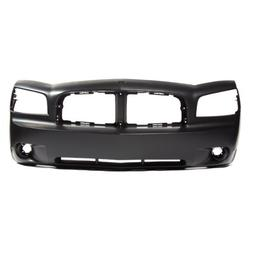 CarPartsDepot, Front Bumper Cover Assembly Fog Holes New Pri