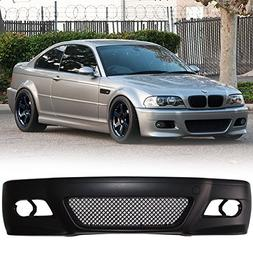 Front Bumper Cover Fits 1999-2006 BMW 3 Series E46 | 2D Coup