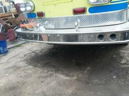front bumper for a 1976 american lafrance fire truck