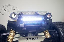 Raidenracing Front Bumper LED Lamp Lighting System  for 1/5