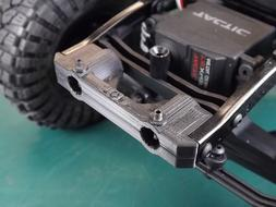 RCDM Front Bumper MOUNT For The Axial SCX10 Ver I And II Cha