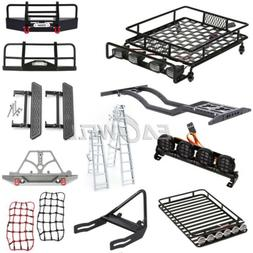 Front Bumper Roof Luggage Rack Net Ladder For 1:10 Trx-4 Axi