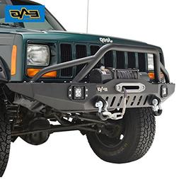EAG Front Bumper With LED Lights for 83-