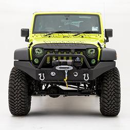 Restyling Factory -Full Width Front Bumper With Fog Lights H